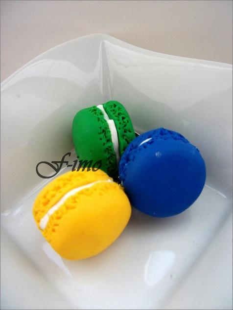 Macarons aux couleurs de l'été !