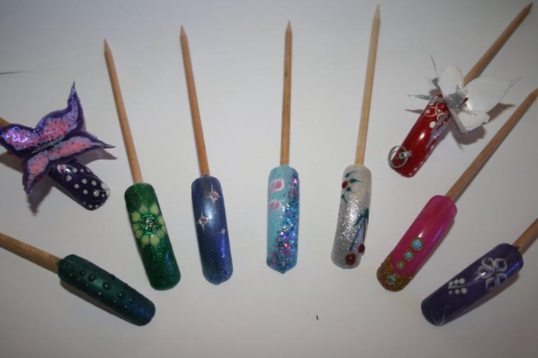 nails art 2D et 3D