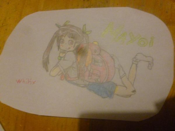 Dessin Mayoi ( bakemonogatari ) de Whitix