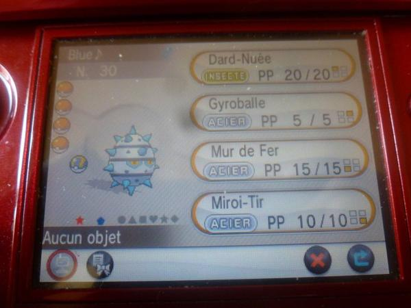Pokemon Y : Mon premier Shiny !