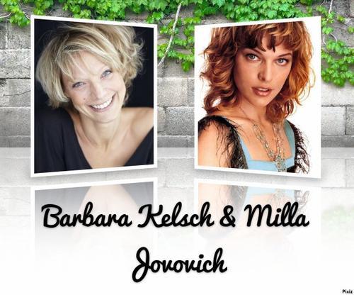 Barbara Kelsch la voix française de Milla Jovovich.