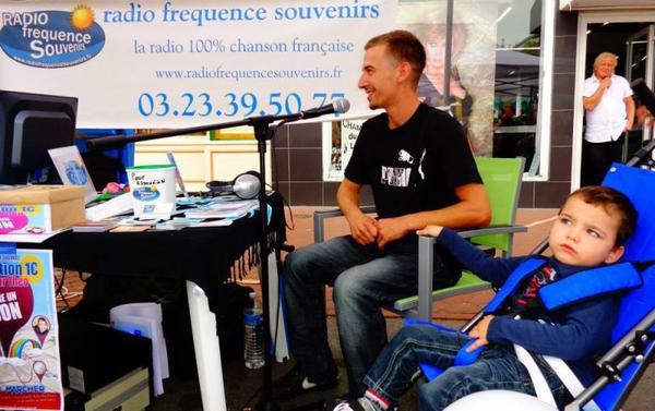 En direct sur radiofrequence souvenirs sur la braderie à Chauny
