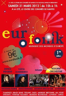 St Patrick et festival Eurofonik à Nantes