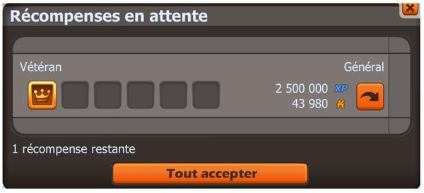 Mon 1er Up 200 ! Love !