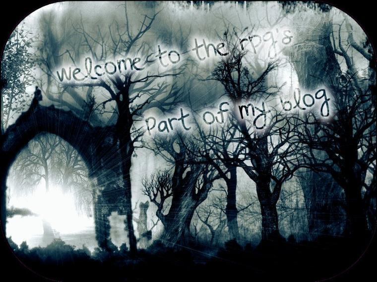 Bienvenue dans la partie rpg's de mon blog !