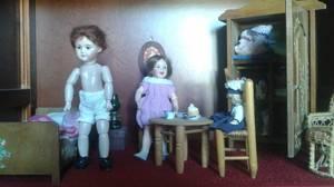 La nouvelle chambre de Bleuette et de Georgette !
