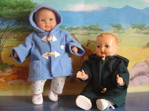 Les manteaux des garçons