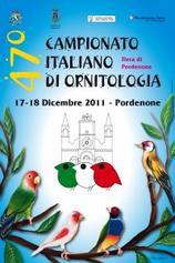47° CAMPIONATO ITALIANO DI ORNITOLOGIA