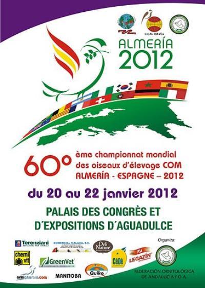 60° CAMPIONATO MONDIALE DI ORNITOLOGIA ALMERIA 2012