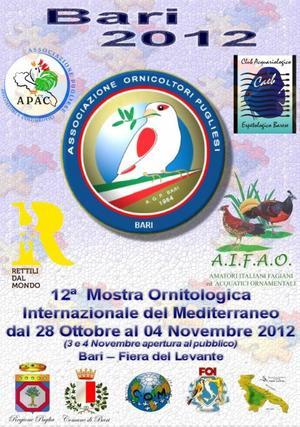12° MOSTRA ORNITOLOGICA INTERNAZIONALE BARI 2012