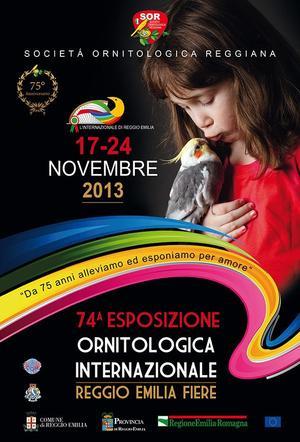 74 EXPO INTERNAZIONALE REGGIO EMILIA 2013