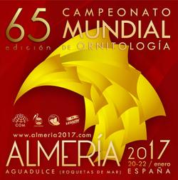 65° CAMPIONATO MONDIALE DI ORNITOLOGIA - ALMERIA 2017