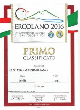 51° CAMPIONATO ITALIANO - ERCOLANO 2016