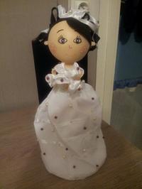 la poupée mariage