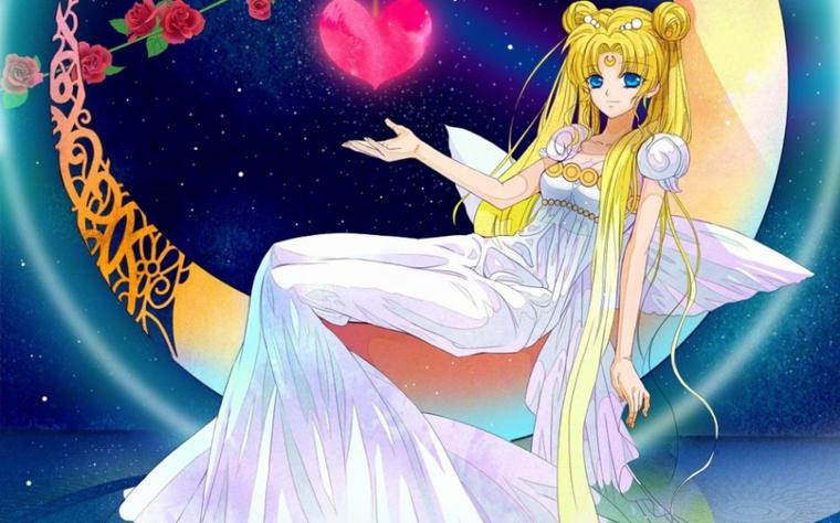 Sailor Moon Crystal, Princesse Serenity