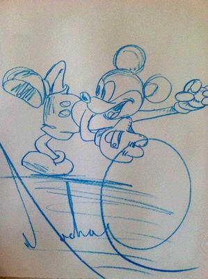 Magnifiques dessins réalisés par MJ!