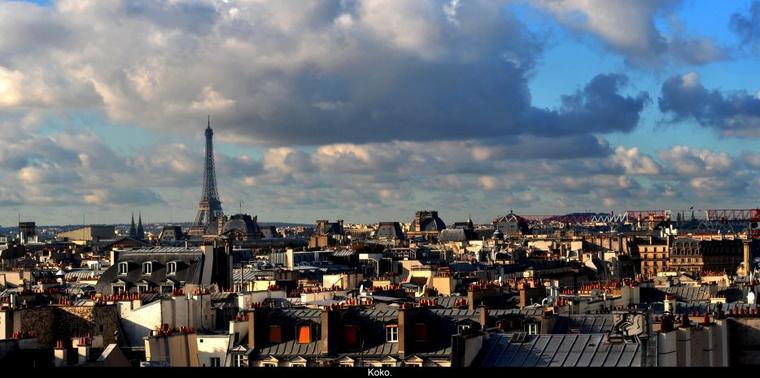 Paris , Paris , Paris.
