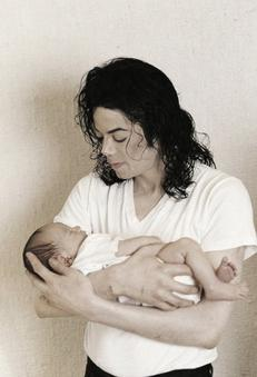 """When I see children I see god's face"" Michael."