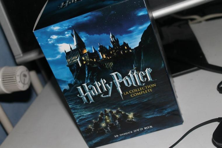 Photos de la collection complète DvD hp 1 à 7.2