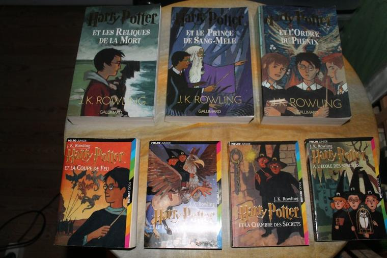 Photos de mes livres Hp