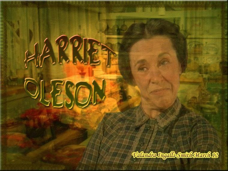 Mme Oleson… On l'aime ou on la déteste… Perso, j'adore la détester ^^...