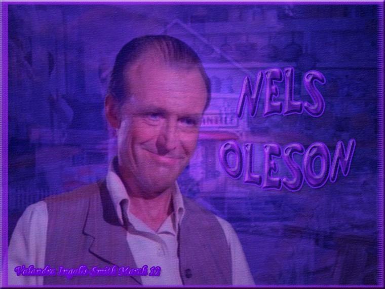 Je ne pouvais pas passer à côté de Mr Oleson...