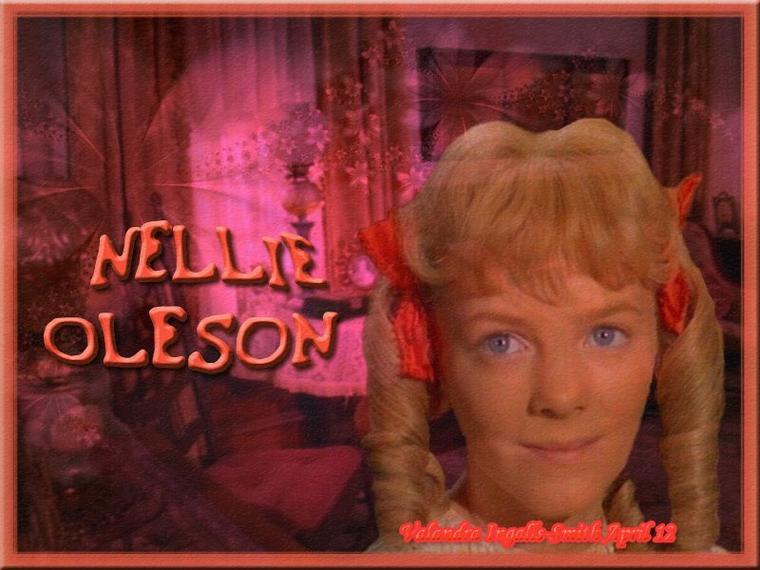 Et pour terminer dans la famille Oleson, la détestable, la méchante… Nellie Oleson ^^…