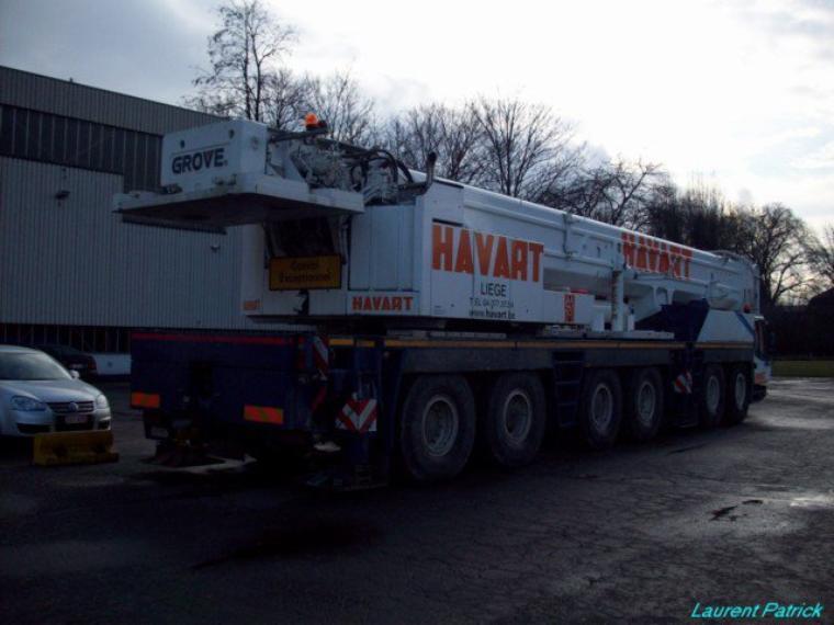 voici des images des camions de chez havart