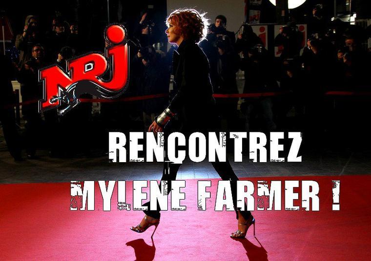 GAGNEZ UNE RENCONTRE AVEC MYLENE FARMER !