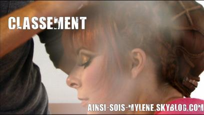 Mylène et les NRJ MUSIC AWARDS + Classement
