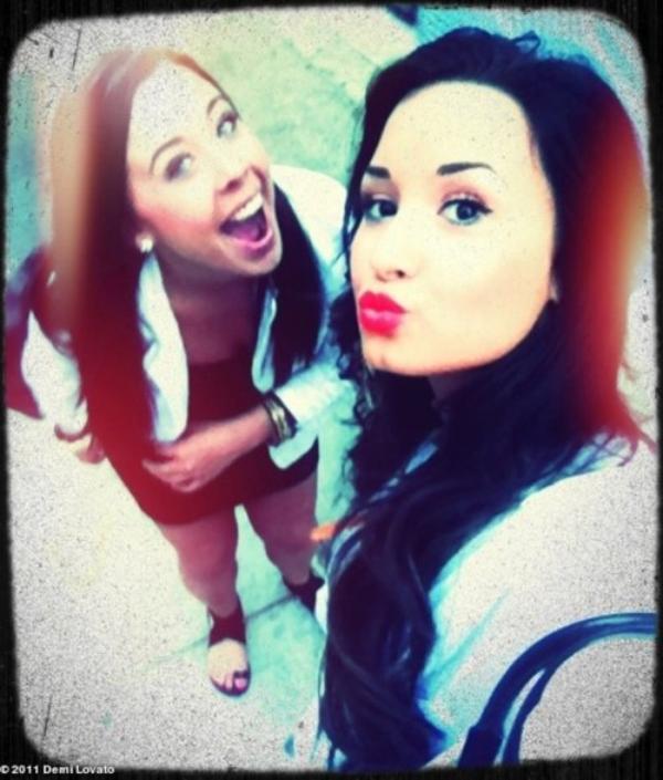 Demi Lovato et Marissa Callahan
