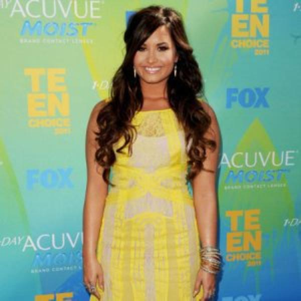 Demi Lovato inspire les Teen Choice Awards