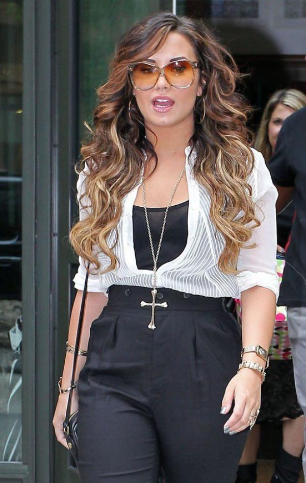Photos : Demi Lovato : elle se lâche !