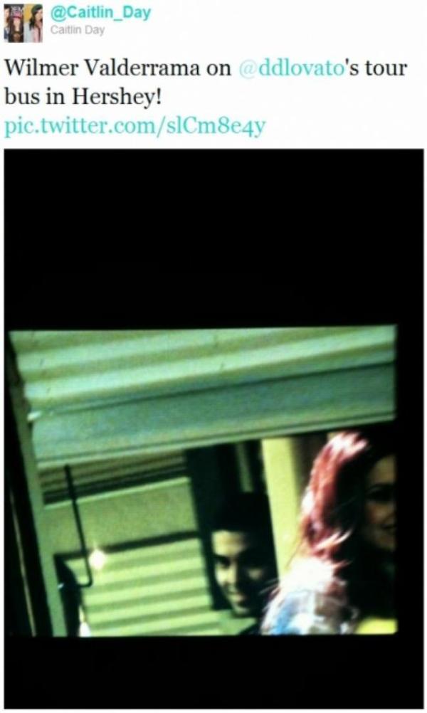 Demi Lovato : Wilmer Valderrama, avec elle en tournée