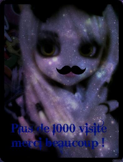 Merci , plus de 1 000 Visites !!!