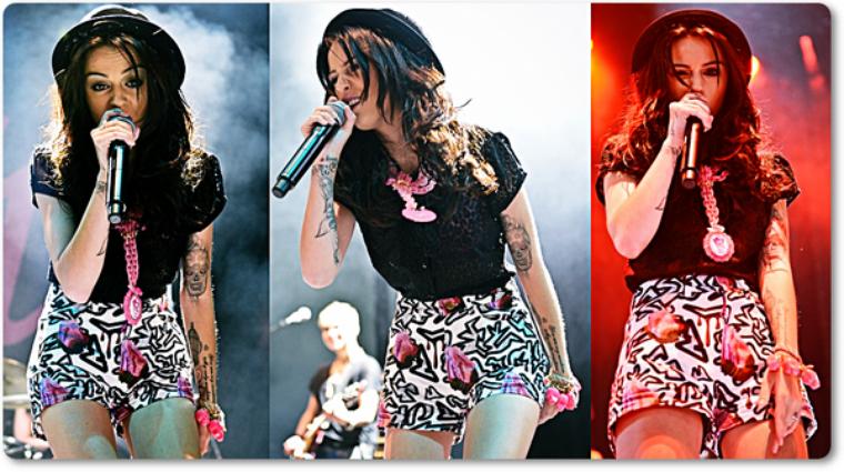 Cher au V festival (premier jour) le 18 août.