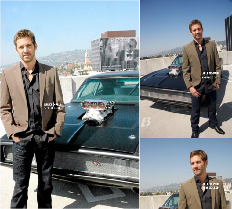 Paul Walker - Photoshoot #1
