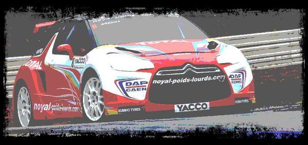DS3 Hervé Knapick  apparu fin 2011 sur nos circuit