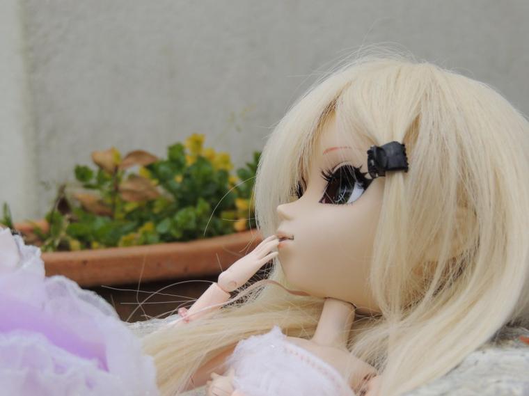 Ayumi  in the garden 1