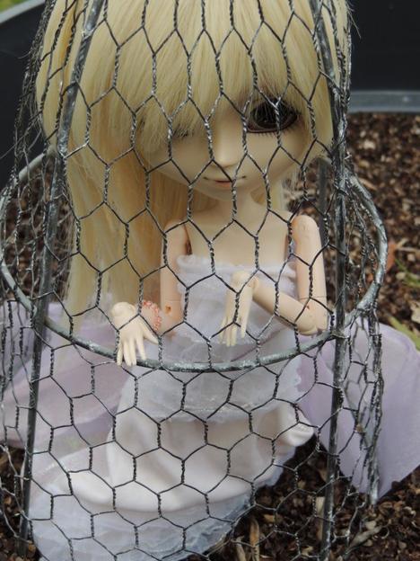 Ayumi  in the garden 2