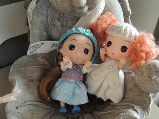 arrivée de Caroline et Lou