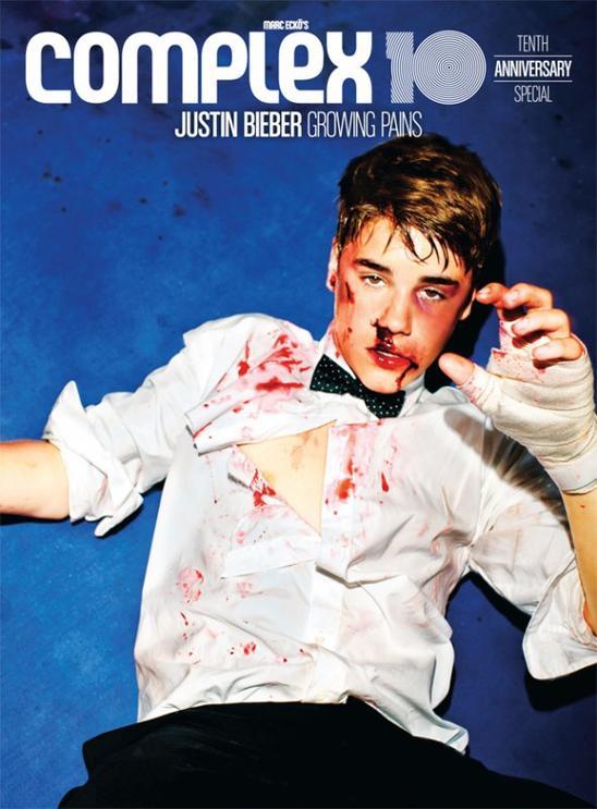 Justin Bieber : Le visage en sang !