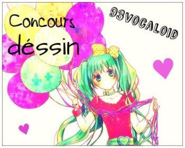 Concour dessin Vocaloid ♥ !! numéros : 2