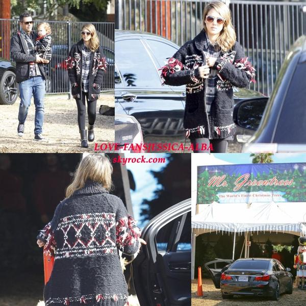 Jessica Alba arrive à son bureau le 03/12/13