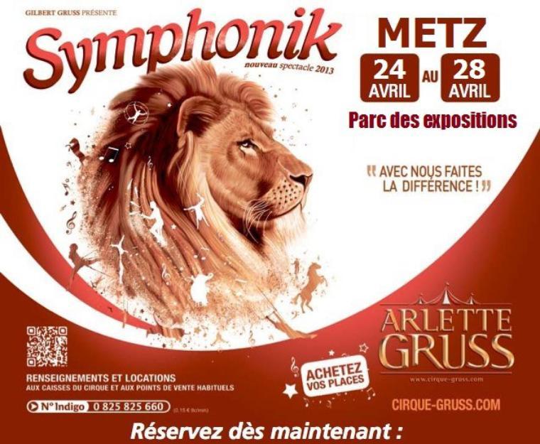 Arlette Gruss > La tournée - Metz