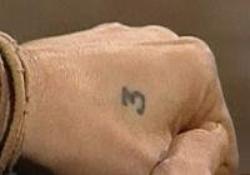 Johnny et ces tatouages