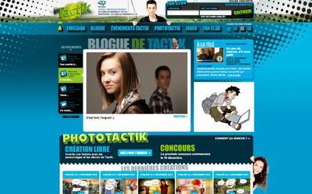 Un site internet des plus actif