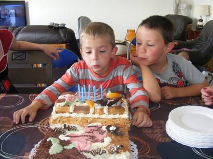 anniversaire de mon ptit bout 7 ans deja