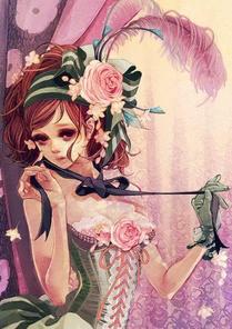 Mademoiselle plume? HEIN? Quoi? *SBAM*