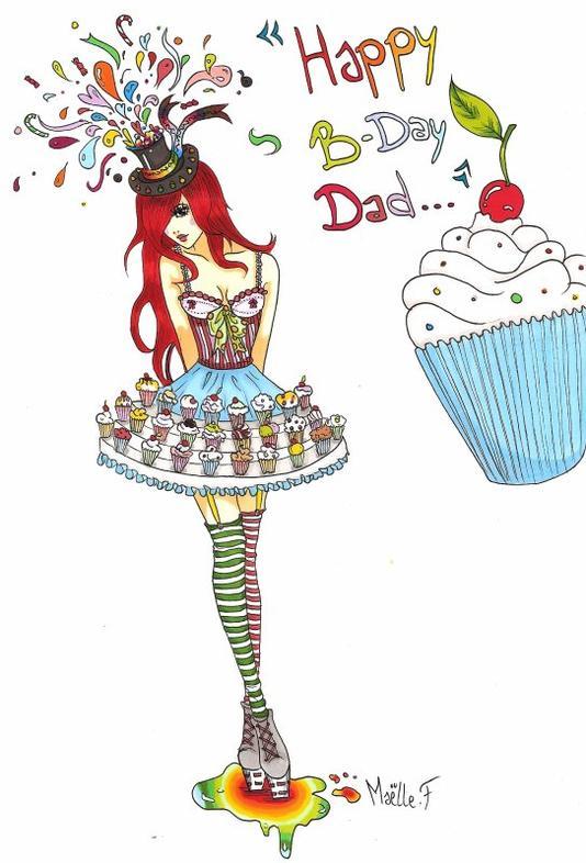 Happy Birthday Dady! :D